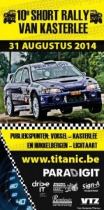 Affiche Short Rally Kasterlee 2014